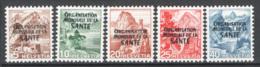 Svizzera 1948 Servizio Unif.S270/74 **/MNH VF - Officials
