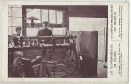 Un Tourneur Ebeniste De Malines Exposition Universelle Et Internationale De Bruxelles 1910 Exposition Travail à Domicile - Wereldtentoonstellingen