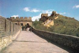 1 AK China * A View Of The Great Wall - Die Chinesischen Mauer - Seit 1987 UNESCO Weltkulturerbe * - China