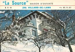"""VILLARD-de-LANS - Maison D'Enfants Conventionnée S. S. """"La Source"""" - Ecole Primaire Privée - Villard-de-Lans"""