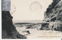 PIRIAC - PIRIAC SUR MER. CP 9X14 Voyagée La Côte à Marée Basse - Piriac Sur Mer