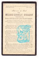DP Melanie C. Bossaert ° Vlamertinge Ieper 1836 † Poperinge 1919 X P. Suffis Xx S. Blanckaert - Imágenes Religiosas