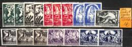[831764]TB//O/Used-Belgique 1944 - Nuances, Contes, Fables & Légendes - Belgien