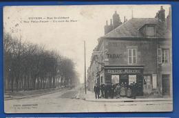 NEVERS    Epicerie Mercerie  Rue St Gildard   Animées  écrite En 1914 - Nevers