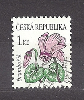 Czech Republic 2007 Gest ⊙ Mi 514 Sc 3345 Flowers Cyclamen. Tschechische Republik C6 - Repubblica Ceca