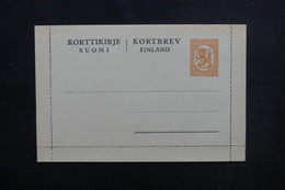 FINLANDE - Entier Postal ( Carte Lettre ) Non Circulé - L 53434 - Finland