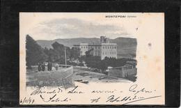 Monteponi (Iglesias) 1899, Cartolina Viaggiata(C 99) - Andere Steden