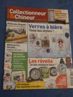 COLLECTIONNEUR & CHINEUR. N°55 6/3/2009. VERRES A BIERE. AUTORAILS BUGATTI. REVEILS. ASSIETTES A BOUILLIE. - Newspapers