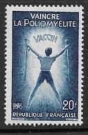 Maury 1224 - 20 F Poliomyélite - * - Francia