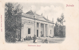 ACIREALE - CATANIA - STABILIMENTO BAGNI - 1900 - Acireale