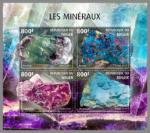 NIGER 2019 MNH Minerals Mineralien Mineraux M/S - OFFICIAL ISSUE - DH2006 - Minéraux