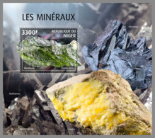 NIGER 2019 MNH Minerals Mineralien Mineraux S/S - OFFICIAL ISSUE - DH2006 - Minéraux