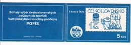 Czechoslovakia Czech Booklet Mint MNH ** 1985: Ice Hockey Sur Glace; Eishockey; IIHF World Cup; Praha 85 - Eishockey
