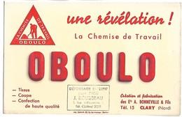 BUVARD - La Chemise De Travail OBOULO - Textile & Vestimentaire