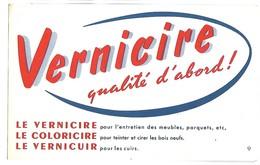 BUVARD - VERNICIRE - Produits Ménagers