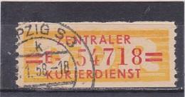 DDR, Dienst: ZKD Nr. 17 E, Gest, (T 14526) - [6] Repubblica Democratica