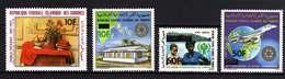 Comores P. A.  N° 189 / 92  XX La Série Des 4 Timbres Aux Prix Modifiés, Sans Charnière TB - Comores (1975-...)