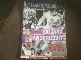 RSCA Anderlecht Bijlage Het Laatste Nieuws 2008 - Sports