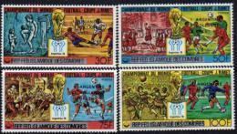 Comores N° 241 / 44 XX  Vainqueurs De La Coupe Du Monde De Football  Les 4 Valeurs  Sans Charnière TB - Comores (1975-...)