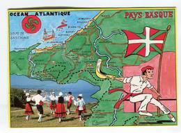 C.P °_ Contour Géo 64-Pays Basque-1998 - Mapas