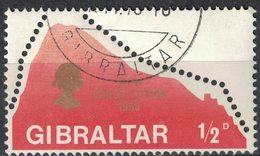 Gibraltar 1969 Oblitéré Used New Constitution Nouvelle Constitution SU - Gibraltar