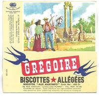 BUVARD - BISCOTTES GREGOIRE - Le Théatre Antique D'Arles - Biscottes