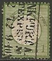 ALLEMAGNE / EMPIRE 1872-1874 N° 7 OBLITERE - Oblitérés