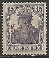 ALLEMAGNE / EMPIRE 1875-1919  N° 100 NEUF Sans Gomme - Duitsland