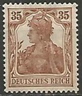 ALLEMAGNE / EMPIRE 1875-1919  N° 102 NEUF Sans Gomme - Duitsland