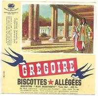 BUVARD - BISCOTTES GREGOIRE - Le Grand Trianon De Versailles - Biscottes