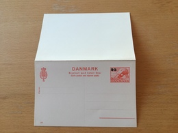 GÄ27665 Dänemark Ganzsache Stationery Entier Postal P 217 - Entiers Postaux