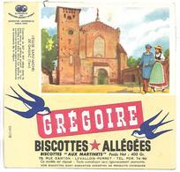 BUVARD - BISCOTTES GREGOIRE - L'Eglise Saint Michel - Biscottes