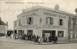 91 - Essonne - Vert-le-Petit - Hotel Restaurant Lanquetin - Restaurant - Billard - Tabac - D 4164 - Vert-le-Petit