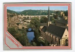 C.P °_ Luxembourg-Viaduc De Clausen-Rochers Bock.Stierchen-1988 - Cartes Postales