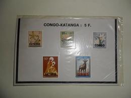 Pochette 1960 - Katanga