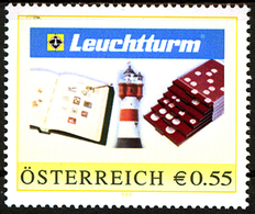 Austria 2007, Stylised Lighthouse, Privately Of Leuchtturm,  MNH. - Phares