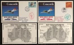 Premier Vol - Concorde - British Airways - London - Perth - 1985 - Concorde