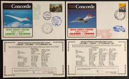 Premier Vol - Concorde - British Airways - London - Colombo - 1985 - Concorde