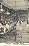CPA Paris EHECIF A La Bibliothèque De La Chambre De Commerce - Arrondissement: 06