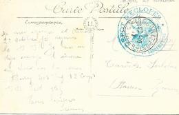 88-Lot De 10 Cachets D'Hôpitaux Et Service De Santé Du Département Des Vosges Tous Sur CP En 14/18 - Poststempel (Briefe)