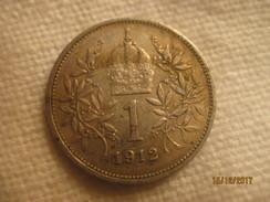 Autriche-Hongrie 1 Korona 1912 - Autriche