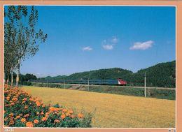 1 AK Südkorea * Saemaul Express Train Running Through Golden Land * - Korea (Süd)