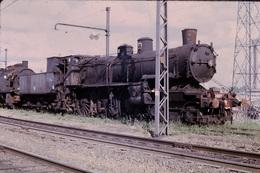 Photo Diapo Diapositive Slide Train Locomotive à Vapeur SNCF 230 En 1970 VOIR ZOOM - Dias