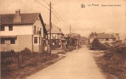 La Panne - Avenue Albert Dumont (timbre émis En 1922) - De Panne