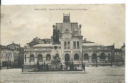 BAR LE DUC  (  MEUSE   )   STATUE DU MARÉCHAL EXELMANS ET LES BAINS - Bar Le Duc