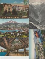 N 206  Lot 100 CPA Différentes De Suisse - Postcards