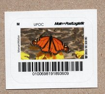 BRD - Privatpost - Main Postlogistik - Schmetterling - Monarchfalter  (Danaus Plexippus) - Papillons