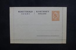 FINLANDE - Entier Postal ( Carte Lettre ) Non Circulé - L 53476 - Finland