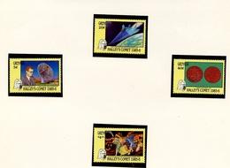 Grenade - Grenada 1986 Y&T N°1312 à 1315 - Michel N°1452 à 1465 *** - Comète De Halley - Grenade (1974-...)