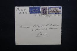 EGYPTE - Enveloppe Commerciale Du Caire Pour Paris Par Avion, Affranchissement Plaisant - L 53483 - Lettres & Documents
